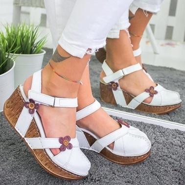 Limoya Sandalet Beyaz